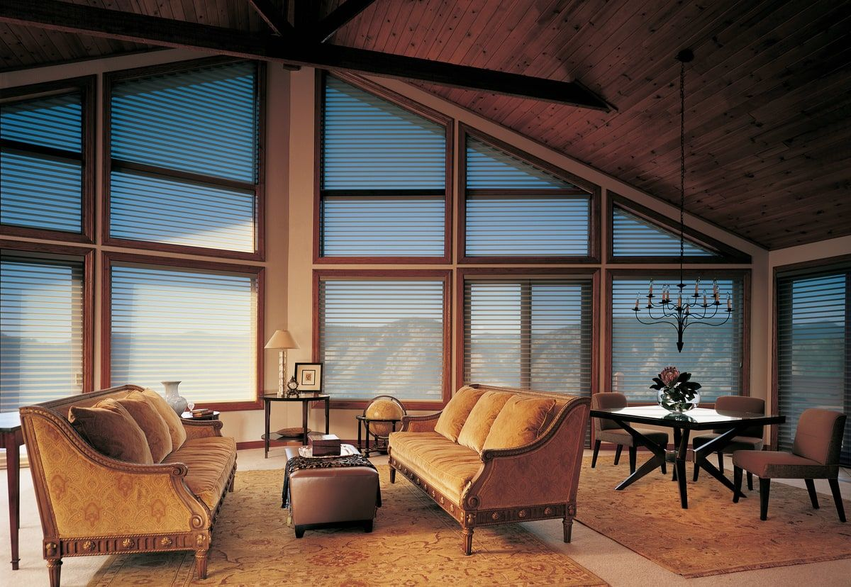 specialty angled blinds