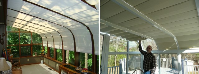 Solarium And Sunroom Shades Blind Amp Shade Products